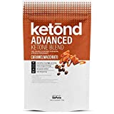 Ketond Advanced Ketone Supplement - 11.7g of goBHB per Serving (30 Servings) - #1 Rated BHB (Beta-HydroxyButyrate) Supplement for Weight Loss, Increased Energy, Focus & Fat Loss (Caramel Macchiato)
