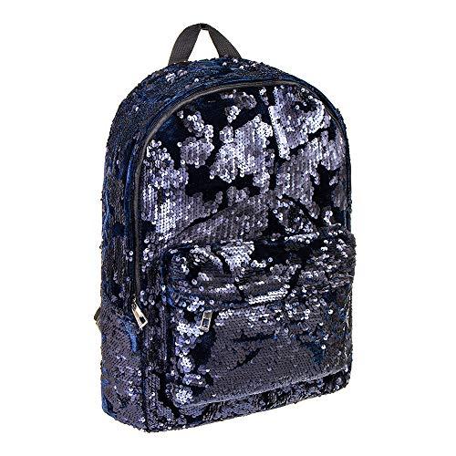Bleeding Heart Sequin Backpack Bleeding Black Blue Black Heart Blue Sequin Backpack wSxHUnAqp