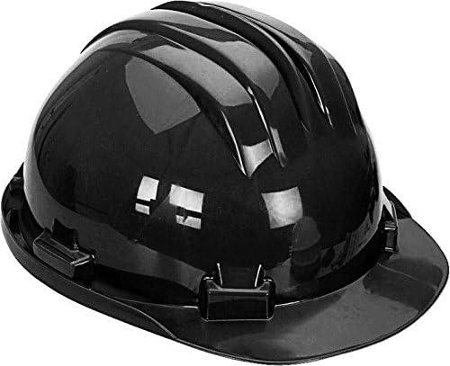 Negro Casco de seguridad duro sombrero con ajustable arnés 6 ...