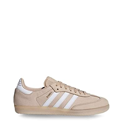 sports shoes 245e3 53c9c adidas Originals Baskets Samba Femme, Rose - Taille 37 1 3 EU