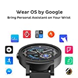 Ticwatch E most comfortable Smartwatch-Shadow,1.4 inch OLED Display, Android Wear 2.0,Compatible with iOS and Android, Google Assistant