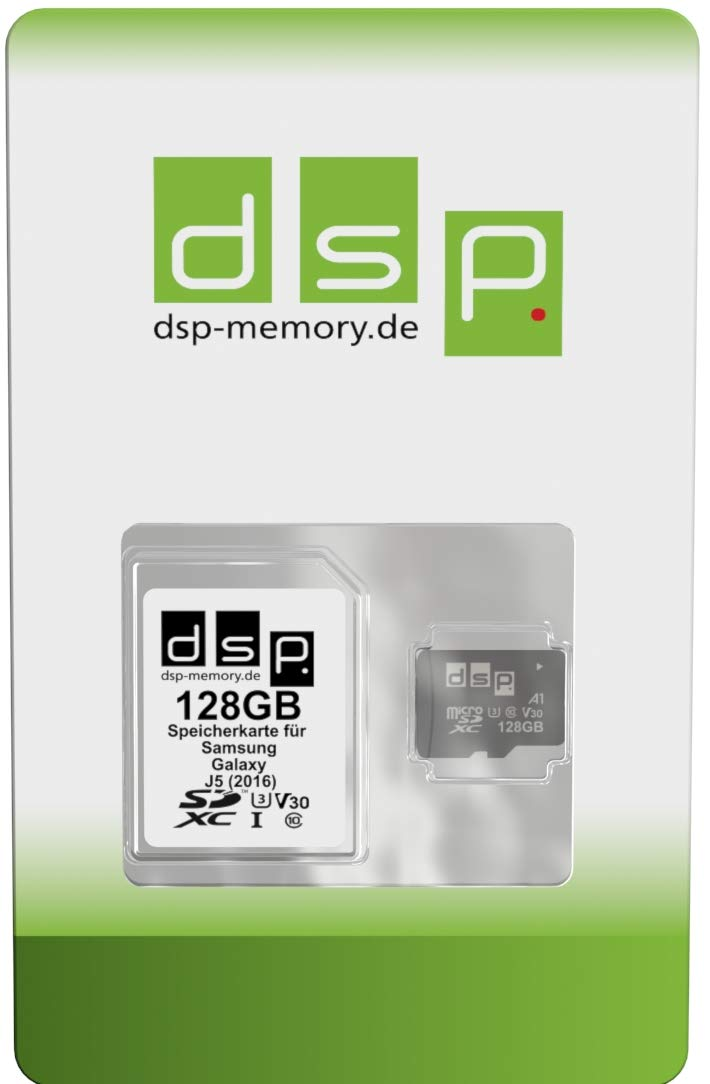 Tarjeta de Memoria de 128 GB (Class 10) para Samsung Galaxy J5 ...