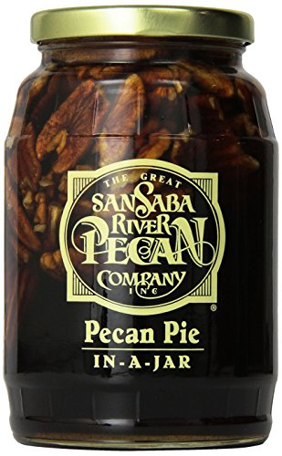 Pecan Pie In-A-Jar 2 Pack, By The Great San Saba River Pecan - Pie Mix Pecan