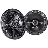 """2 Kicker 41DSC674 D-Series 6.75"""" 240W 2-Way 4-Ohm Car Audio Coaxial Speakers"""