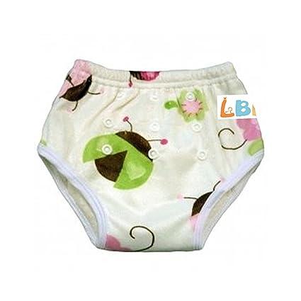 LBB bebé reutilizable bambú – Pantalones de entrenamiento para el orinal