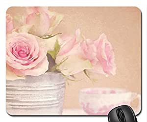 Soft Mouse Pad, Mousepad (Flowers Mouse Pad, 10.2 x 8.3 x 0.12 inches)