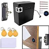 Electronic Cabinet Lock, RFID Electronic Cabinet Lock, Hidden DIY Lock, Electronic Sensor Lock, Punch-Free, Locker Lock, Wardrobe Lock, Drawer Lock