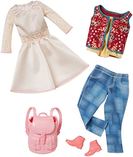 Barbie Fashion 2 Pack Casual - White Dress & Jeans ()