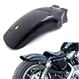 Black Motorcycle Metal Rear Fender Mudguard For Harley Honda Kawasai Suzuki Yamaha
