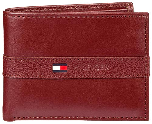 Tommy Hilfiger Men's Ranger Leather Passcase Wallet