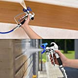 FUNTECK Airless Spray Gun with Tip Guard and 517
