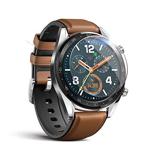 Price comparison product image certainPL Compatible Huawei Watch GT Screen Protector - Full Coverage Explosion-proof TPU Film HD Clear Screen Protector for Huawei Watch GT (5 Pieces)