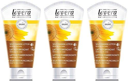 (3 PACK) - Lavera - Self Tanning Body Lotion | 150ml | 3 PACK BUNDLE -