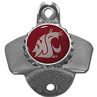 NCAA Washington State Cougars Wall Bottle Opener
