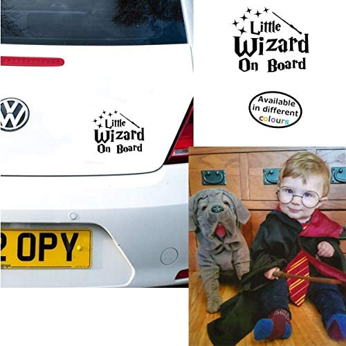BLUE LITTLE PRINCE ON BOARD DISNEY STYLE CAR STICKER DECAL CHOICE OF COLOURS