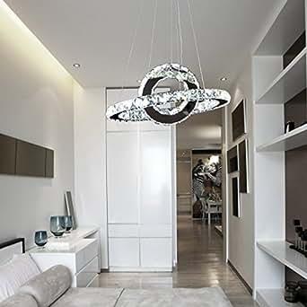 OOFAY LIGHT® Led 36w Modern Crystal Chandelier, art