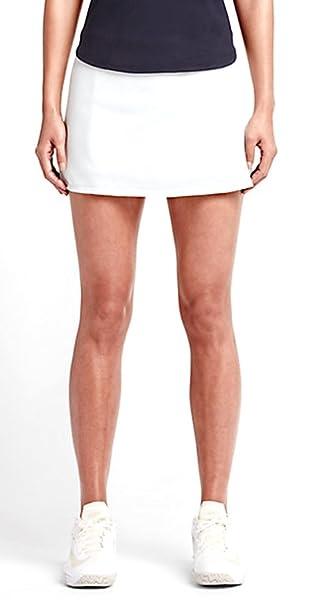 Nike Court Baseline Tennis Skirt Womens White/White