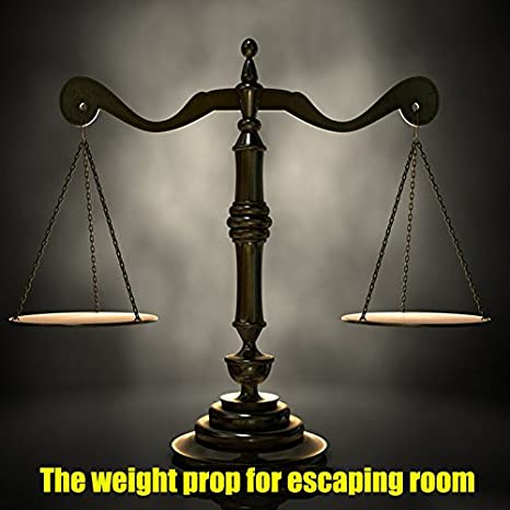 Amazon.com: Escape Room Props ,Puzzles Scale Sensor Put the Right Weight on Scale Sensor to Open 12V Electromagnetic Locks for Escape Room and Exit Game ...
