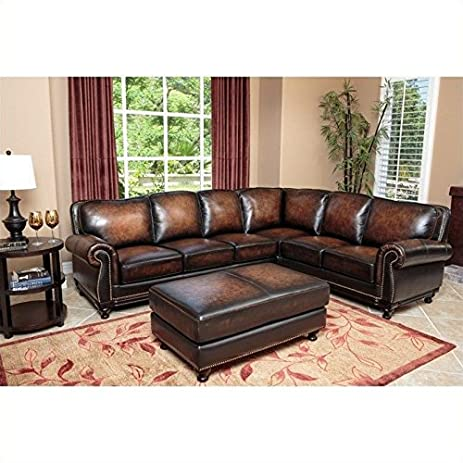 Abbyson Living Nizza SK 5304 BRN SET 2 Piece Living Room Set Part 37
