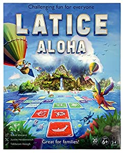 Latice Aloha Strategy Board Game