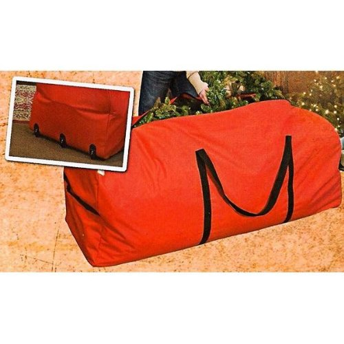 Christmas Tree Storage Bag w/ Wheels - For 6 ft. to 9 ft. Trees