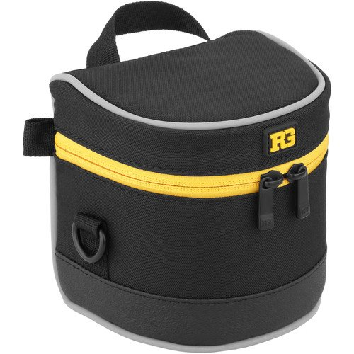 Ruggard Lens Case 3.5 x 3.5'' (Black)(6 Pack) by Ruggard