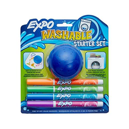 Washable Erase 5 Piece Assorted Colors