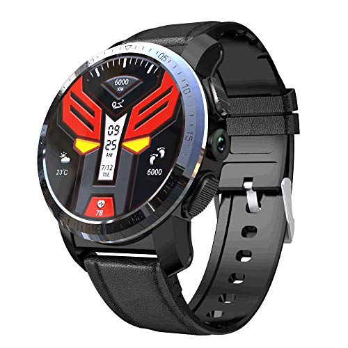 India Gadgets – KOSPET Optimus Pro 4G Android Mobile Phone Watch: 3Gb Ram + 32Gb ROM, Healthcare Sports Smartwatch: 8.0Mp Camera: 800mAh Battery