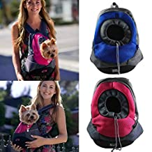 AerWo Dog Cat Pet Carrier Portable Outdoor Travel Backpack, (Deep Blue ,M)