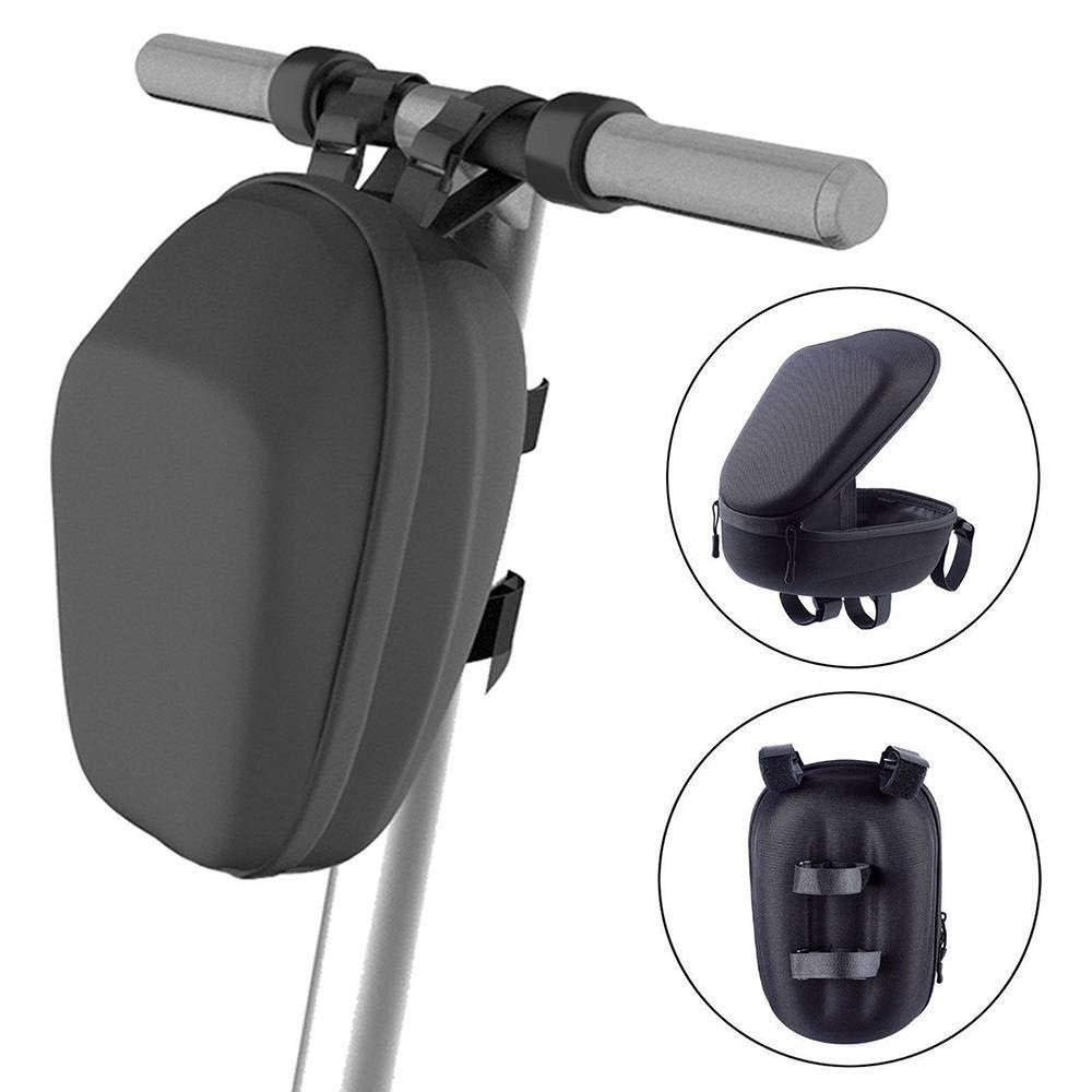 GAGAMO E-Scooter Storage Handlebar Bag M365 Accessories, Head Handle Front Carrying Bag for Xiaomi Mijia M365/Mi365 Mi Pro/ES1 ES2 ES3 ES4 ES Series Ninebots Universal Electric Scooter Waterproof by GAGAMO