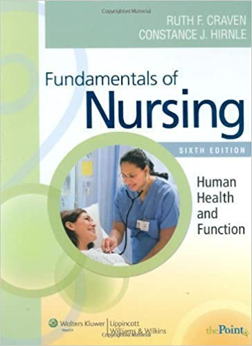 Fundamentals of nursing human health and function craven fundamentals of nursing human health and function craven fundamentals of nursing human health and function 6th edition sixth ed 6e by ruth f craven fandeluxe Image collections