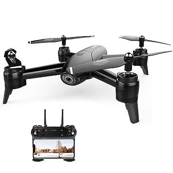 SH-Flying Dron RC - SG106 Drone Optical Flow aircraf 1080P HD ...