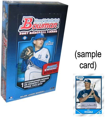 MLB 2007 BOWMAN HOBBY B000ETKVX8