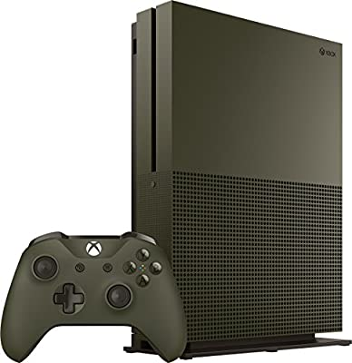 Xbox One S 1TB Console – Battlefield 1 Special Edition Bundle [Discontinued] by Microsoft