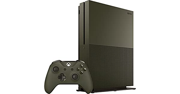 Amazon com: Xbox One S 1TB Console – Battlefield 1 Special