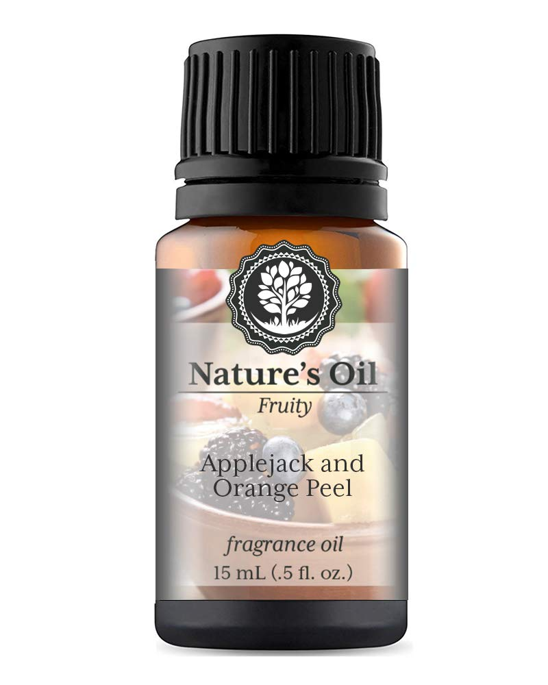Applejack and Orange Peel Fragrance Oil (15ml) For Diffusers, Soap Making, Candles, Lotion, Home Scents, Linen Spray, Bath Bombs, Slime