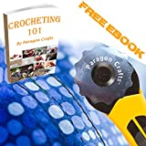 3 Pack Crochet Edge 45mm Razor Sharp Rotary Cutter Blades with Plastic Case.