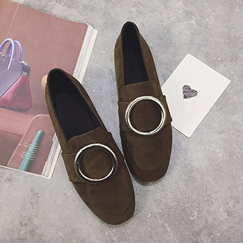 Slip Green Casual Loafers Lazy Soft Ladies Transer Non On Flats Shoes Slip Shoes Work Comfy Leisure Leather Women vSTq8