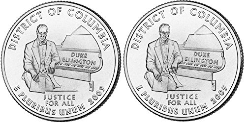 2009 District of Columbia State Quarters (Philadelphia & Denver Mints) Uncirculated