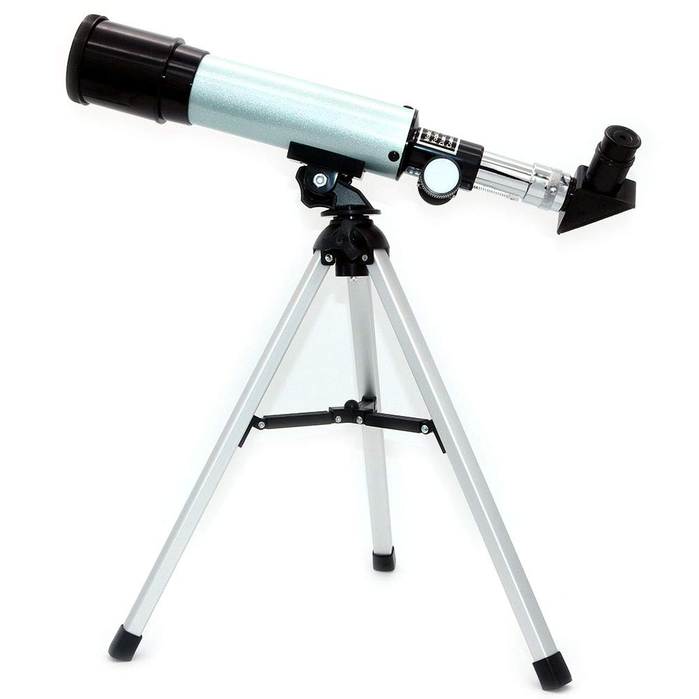 NUZAMAS Astronomical Telescope for Educational Science Refractor with Super Lightweight Tripod for Astronomy Beginners, Night Stars Watch,Focal Length 360mm, Aperture 50mm by NUZAMAS