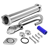 Ford Super Duty / Excursion 6.0L Powerstroke Diesel EGR Bypass Delete Kit + Up Pipe