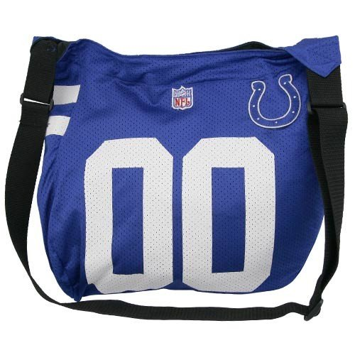 Indianapolis Colts Royal Blue Jersey Tote Bag Colts Jersey Tote Bag