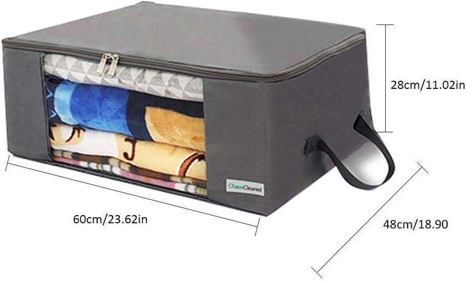 Kissen Quilt Saison Artikel Lagerung keng Aufbewahrungstasche Faltbare Aufbewahrungsboxen Gro/ße langlebige f/ür Bettw/äsche Kleidung Decken