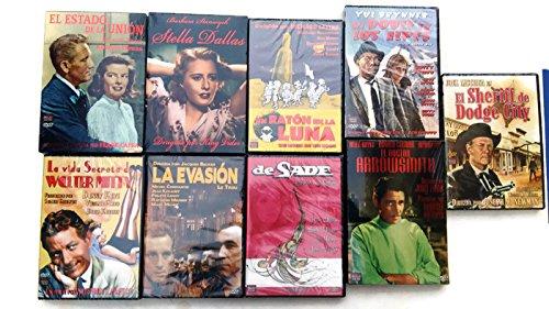Pack de 9 Películas DVD Cine Clásico Coleccionismo: Amazon.es: Cine y Series TV