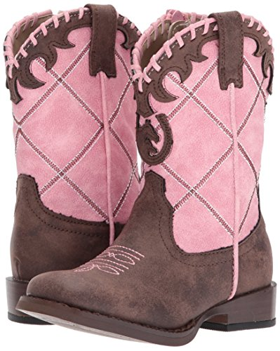 Pictures of Roper Girls' Lacy Pink 4 M US Infant Pink 4 M US Infant 4