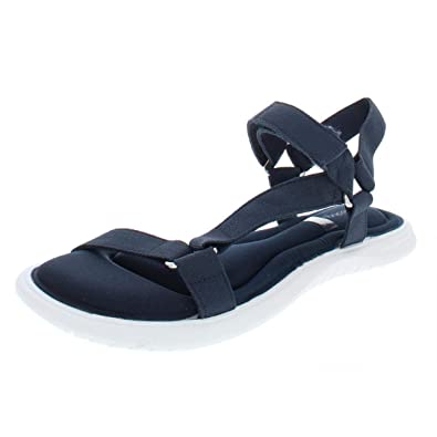 d90f4986f Amazon.com | Ideology Womens Darceyy Fabric Open Toe Casual Sport Sandals |  Flats