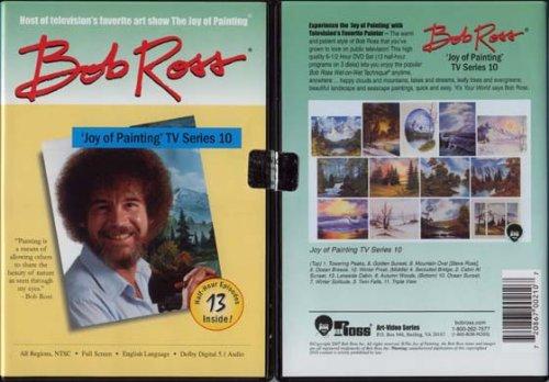 Weber Ross Dvd Joy Of Painting Series 10 Featuring 13 Shows (Joy Of Painting Series 2)