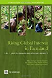 img - for Rising Global Interest in Farmland: Can It Yield Sustainable and Equitable Benefits? (Agriculture and Rural Development Series) by Klaus Deininger (2011-01-10) book / textbook / text book