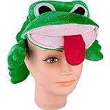 Velvet Frog Costume Hat