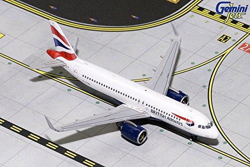 GeminiJets GJBAW1786 British Airways A320 Neo G-TTNA / GEMGJ1786 1:400 Gemini Jets British Airways Airbus A320neo #G-TTNA (pre-Painted/pre-Built)